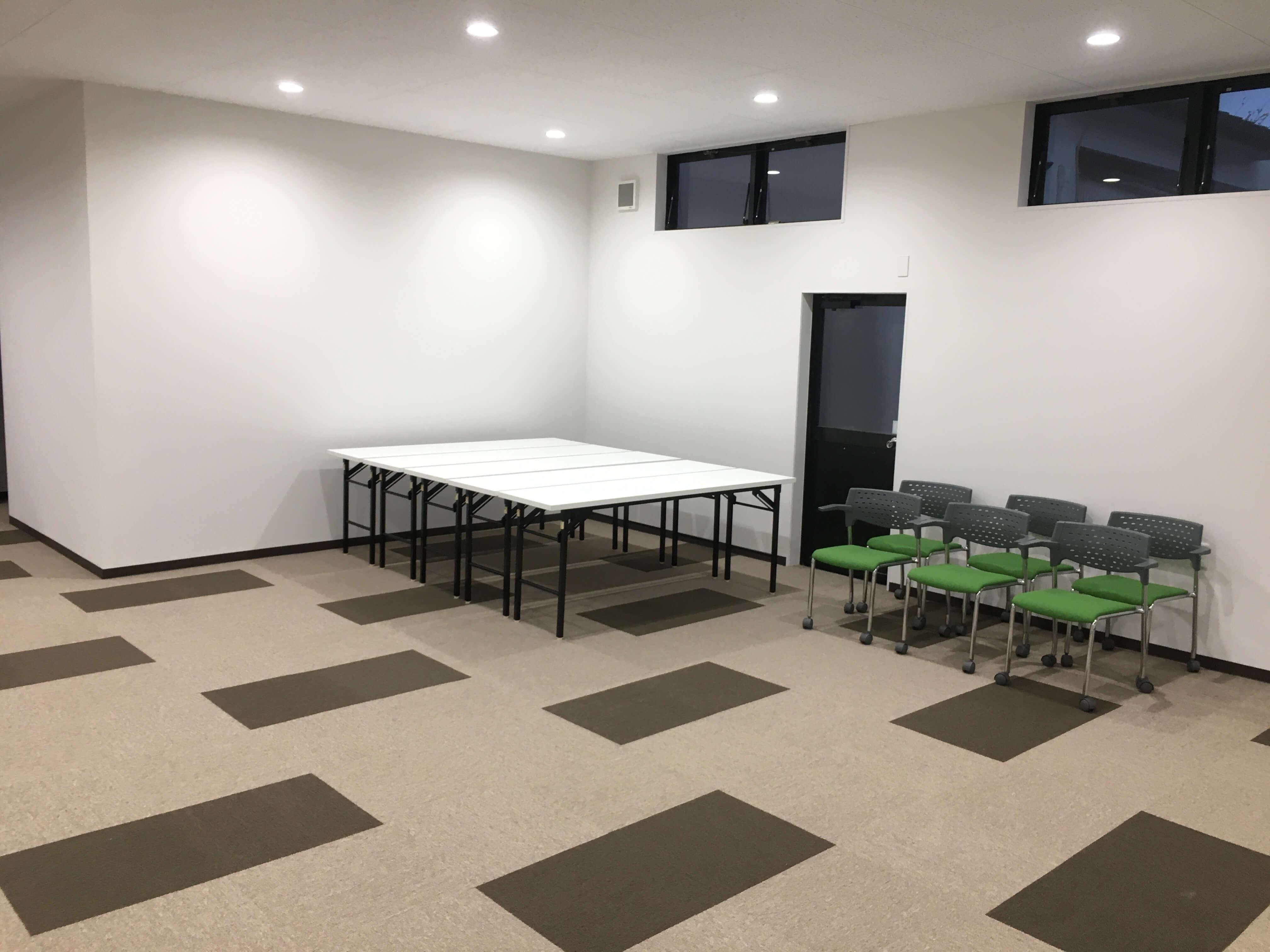 打合せスペース用の部屋も新設