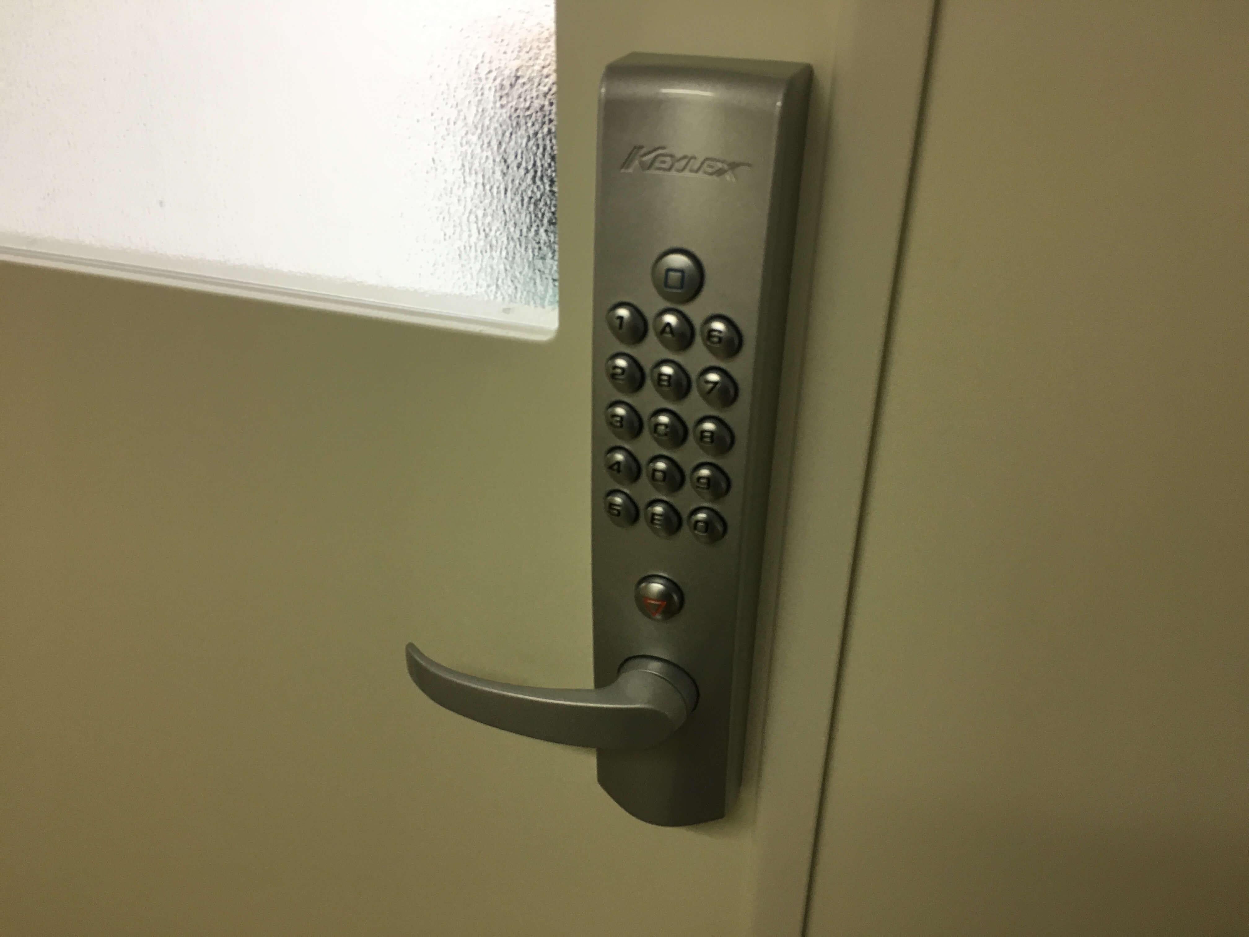 キーレックスの自動施錠タイプ