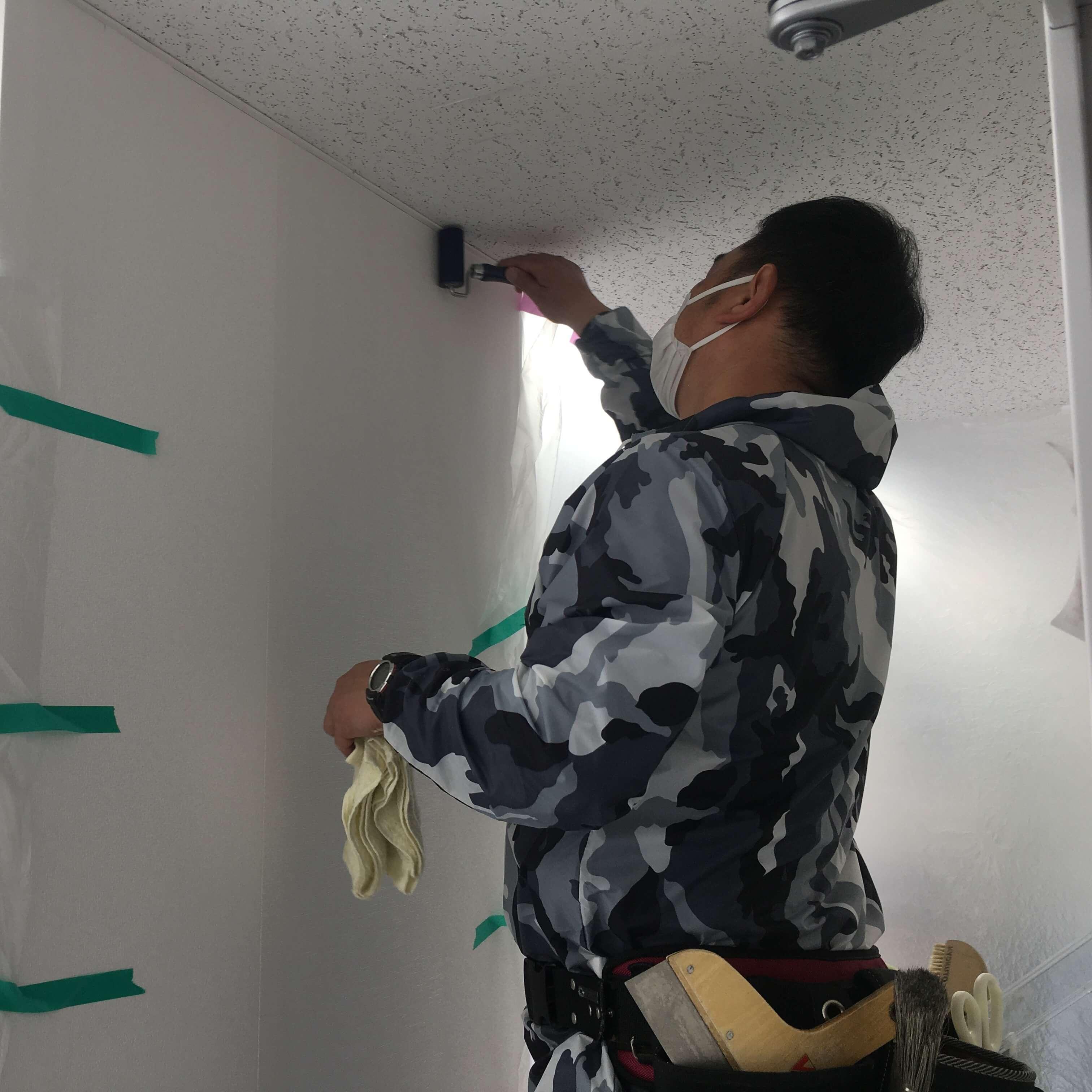 徳島・香川のオフィス内装工事|石膏ボード壁の解体・補修