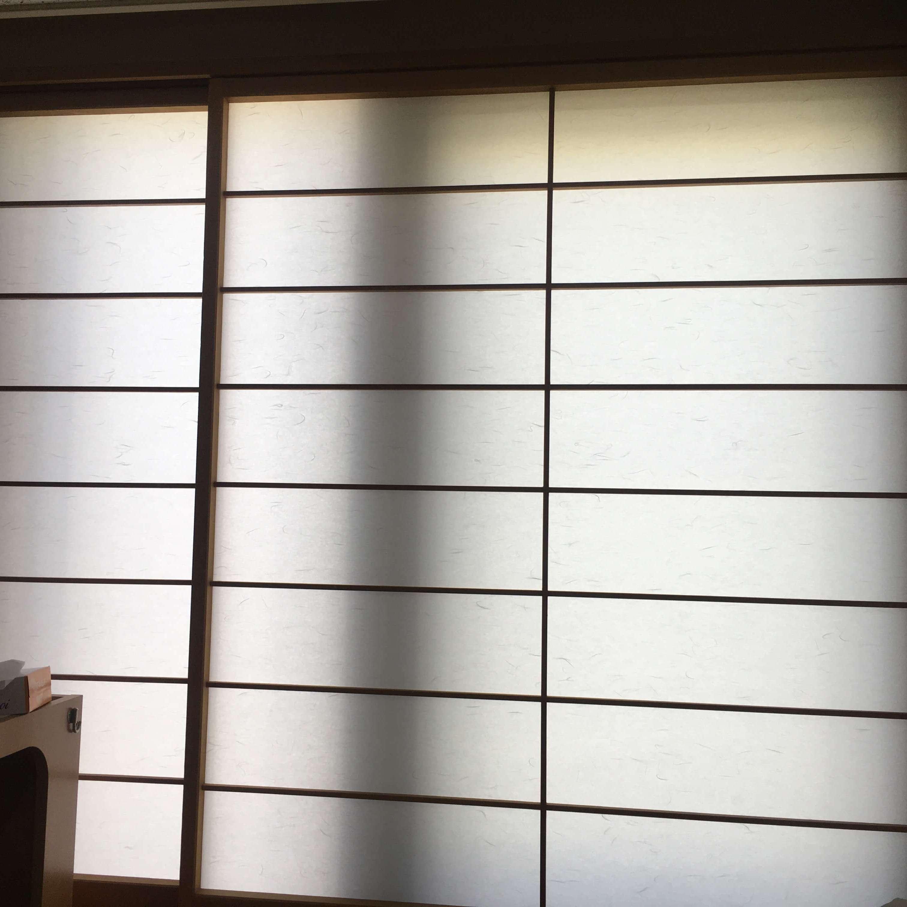 徳島・香川のオフィス内装工事|障子の張り替え修繕