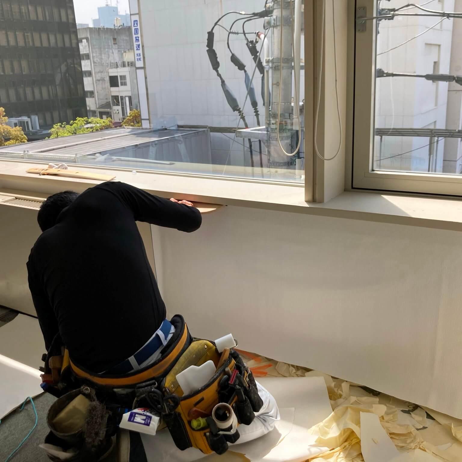 徳島・香川のオフィス内装工事|壁紙(クロス)の張り替え・修繕